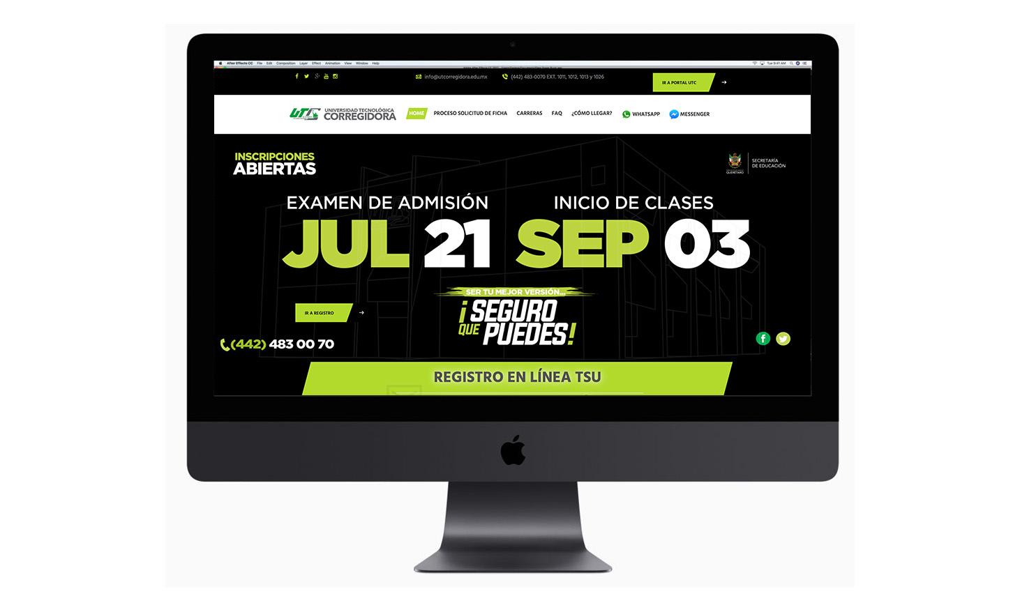 Portal de Captación 2018 UT de Corregidora