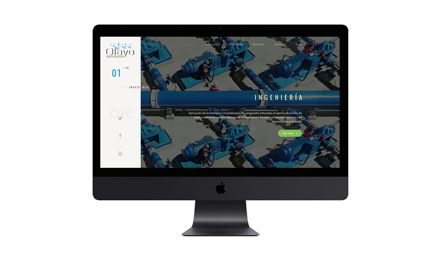 Portal Web Olayo IC