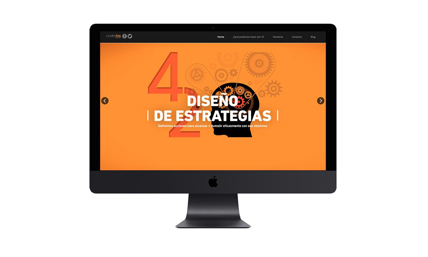 Portal Web Agencia Cuatrodos