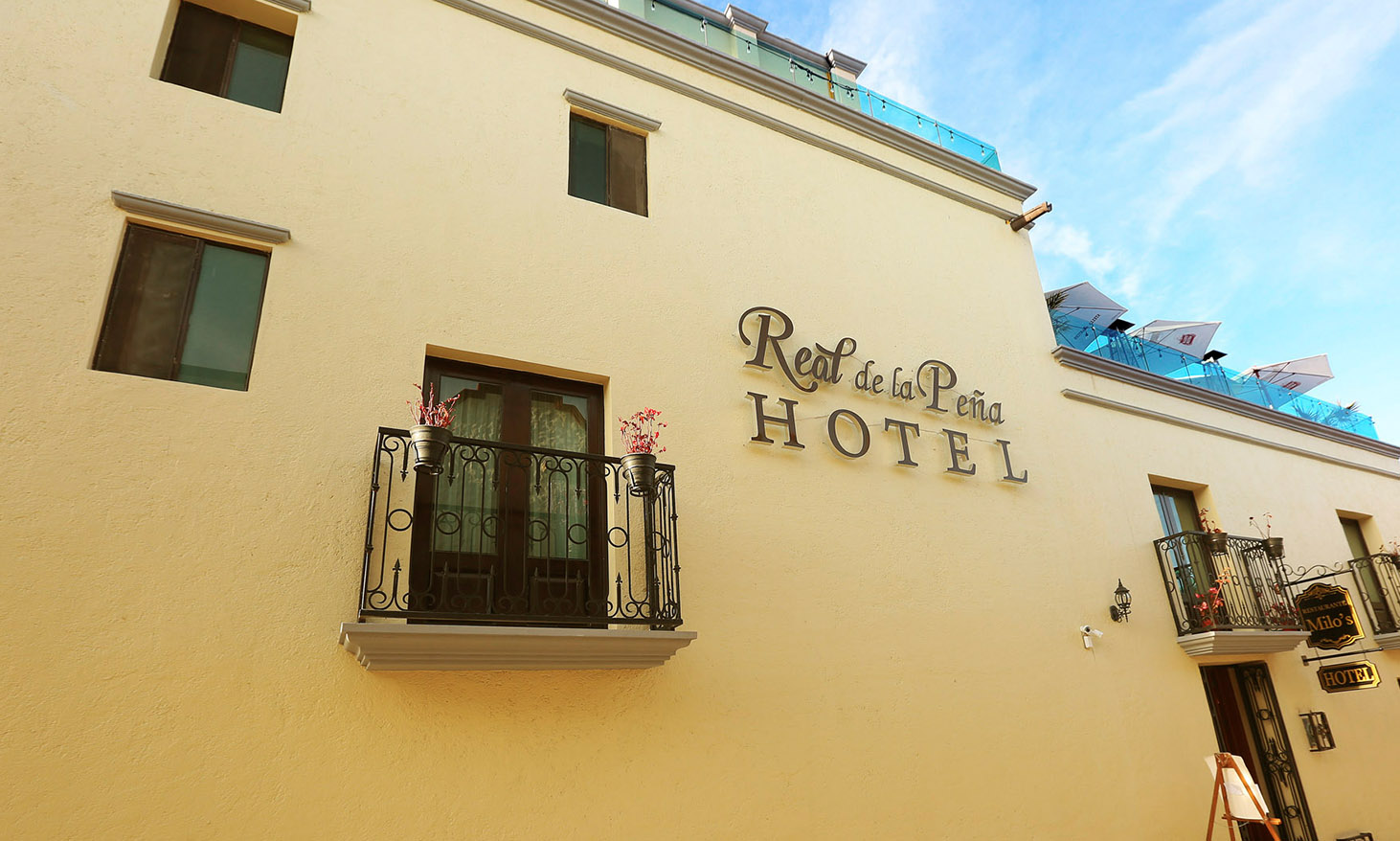 Spot Publicitario Real de la Peña Hotel